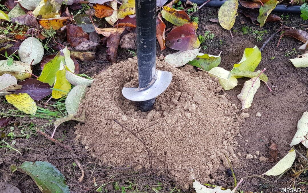 Próbki gleby, wapnowanie -regulacja pH